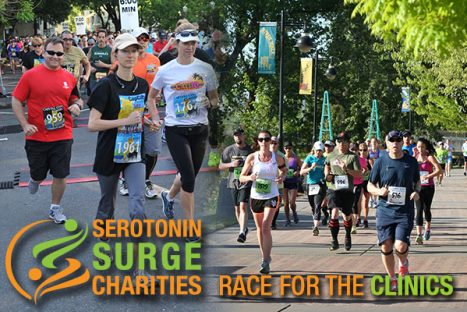 Serotonin Surge Charities | Race for the Clinics
