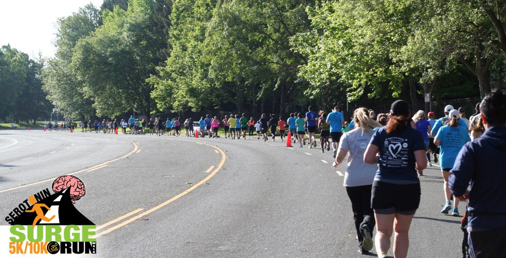 Serotonin Surge Charities 5k 10k run sacramento