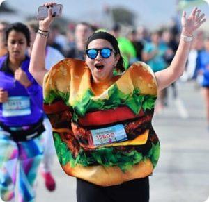bay to breakers hamburger runner