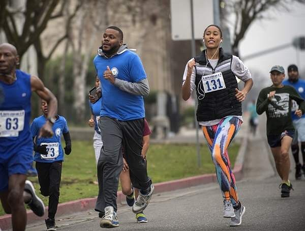 Dr Martin Luther King Jr Run Amp Walk